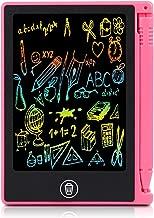 4,5 Pulgadas Tableta de Escritura LCD,Tablero de Dibujo para Niños para Crear Listas de Tareas,Listas de Compras,Recordatorios de Eventos,Notas Breves para Amigos y Familiares.(Rojo)