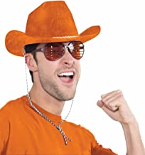 Forum Novelties - Deluxe Orange Cowboy Hat