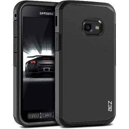 BEZ Funda Compatible para Samsung Galaxy Xcover 4/Xcover 4s, Antideslizante Ultra Híbrida Gota Protección, Cover Anti-Arañazos con Absorción de Choque Resistente, Nergo