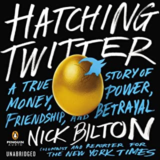 Hatching Twitter audiobook cover art