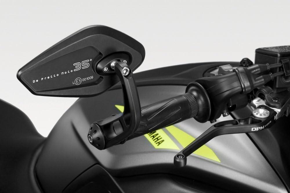 Mt 07 Fz07 2018 20 Kit Spiegel Revenge Ss R 0852 E Geprüft Rückspiegel Seitenspiegel Lenkerendenspiegel Aluminium Motorradzubehör De Pretto Moto Dpm Race 100 Made In Italy Auto
