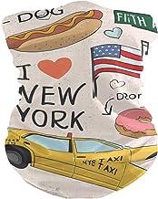 PINLLG New York Elements Gezichtsmasker Bandana Wasbare Hoofdband voor Stof Sport Magic Sjaal Hals Gaiter Mannen Vrouwen
