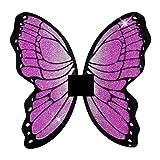 Widmann 8674B - Glitzer Schmetterlingsflügel, 50 x 50 cm