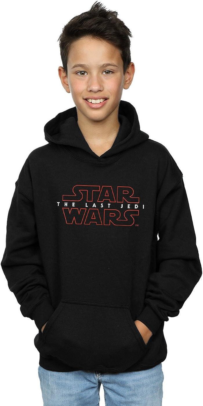 Star Wars Boys The Last Jedi Logo Hoodie 12-13 years Black
