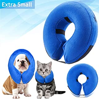 Recovery-Collar Pillow for Dogs and Cats Comfy-Cone Soft-Inflatable-Donut Collar