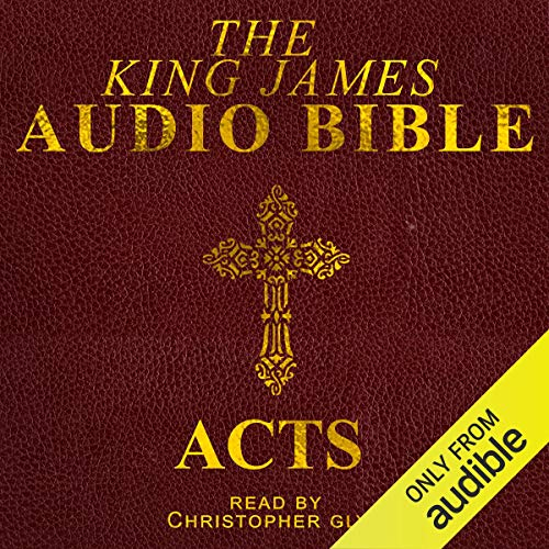 5. Acts audiobook cover art