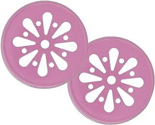 Just Artifacts Regular Mouth Mason Jar Daisy Cut Lids (Set of 50, Pink) - Lids Only