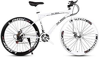 comprar comparacion LRHD Las bicicletas de carretera de los hombres y de las mujeres, de 24 bicicletas de velocidad de 26 pulgadas, sólo for a...