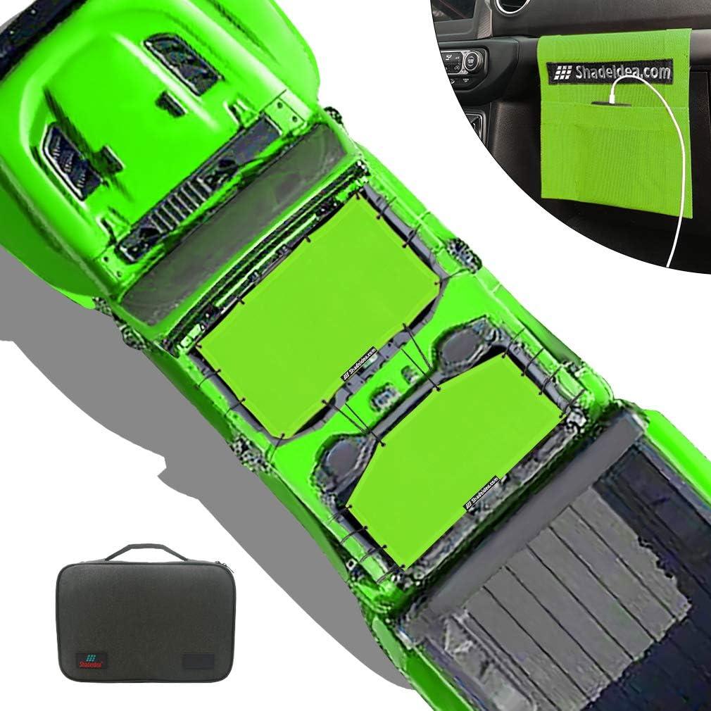 Shadeidea Sun Shade free shipping for Jeep Gladiator Door Top JT Popular 4 Sunshade
