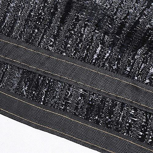 SZ JIAOJIAO schaduw van stof, 8 pins, UV-bescherming, met metalen gat voor paviljoendak, koelnetbescherming, 3 x 10 m