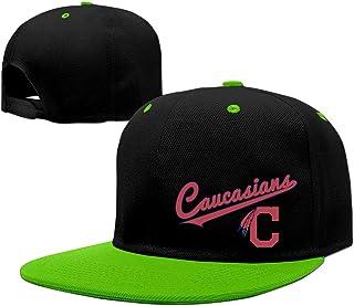 9fbce11e05049 Caucasians Indians Chief Wahoo Logo Baseball Snapback Cap Red