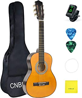 Kid Beginner Guitar Classical Guitar Acoustic Guitar 1/2 Half Size 30 inch Nylon Strings