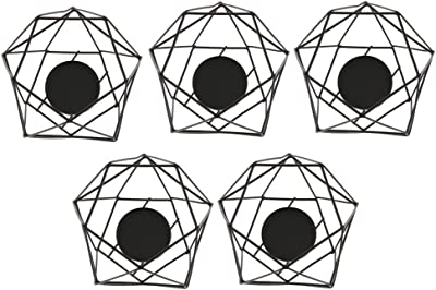 キャンドルホルダー 写真の小道具 カフェ 誕生日 祝日 新年 家の装飾 北欧スタイル 3D幾何学的
