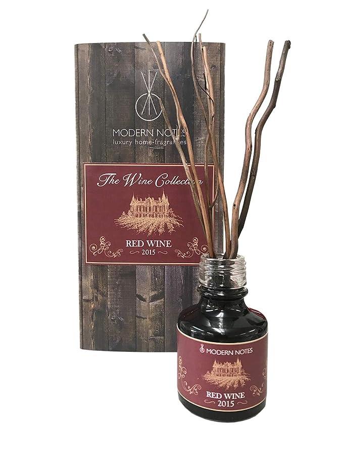 遊びますページ告白するMODERN NOTES ワインコレクション リードディフューザーミニ 2015 RED WINE 90mL