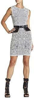BCBG Maxazria Jazmyne Tribal Jacquard Dress
