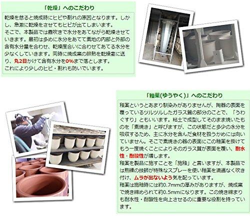 『常滑焼陶器製漬物容器5号』