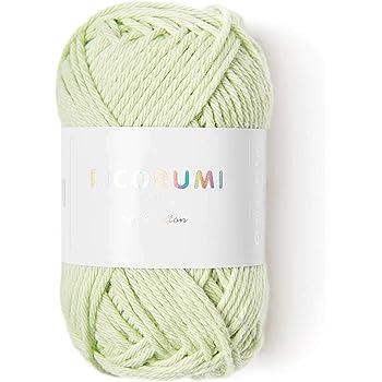 Algodón ricorumi para Amigurumi, Mini ovillo 25 G 46 Verde claro: Amazon.es: Hogar