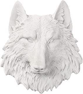 animal head statues