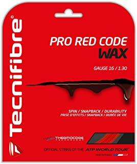 Tecnifibre Pro Red Code Wax Tennis String Red ()