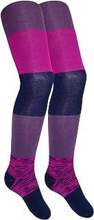 EveryKid Maximo M/ädchenstrumpfhose Strumpfhose Markenstrumpfhose ganzj/ährig mit Blockstreifen f/ür Kinder MX-83246-299200-W18-MA0 inkl Fashionguide
