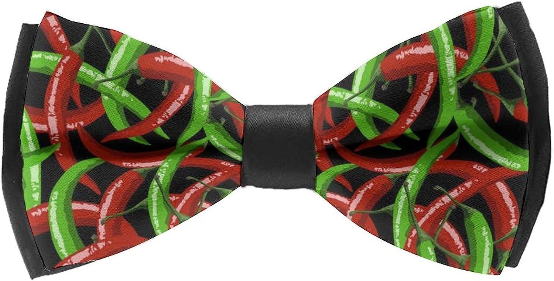 Pre-Tied Bowties for Wedding Party Classic Cravat Neck Tie For Men/Boys