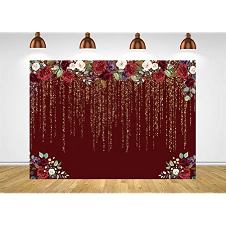 Levoo Flannel Flowers and Grass Wall Background Banner Photography Studio Boy Girl Birthday Family Party Holiday Celebration Romantic Wedding Photography Backdrop Home Decoration 7x5ft,chy303