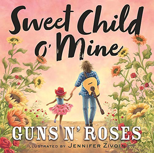 Sweet Child o' Mine Guns N' Roses Children's Hardcover Book $9.50 + FS w/ Amazon Prime, FS on $25+ or FS w/ Walmart+, FS on $35+