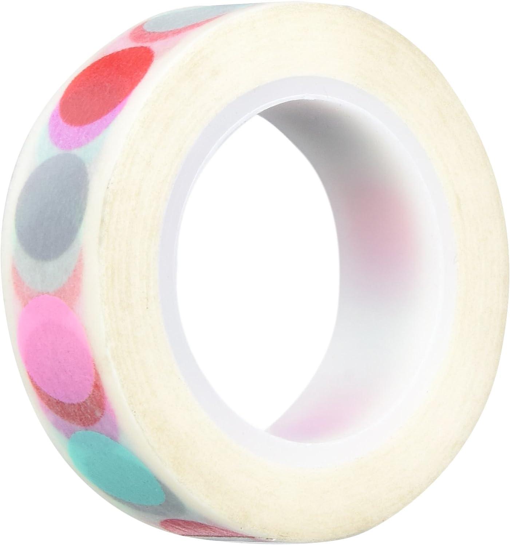 Doodlebug Washi Tape 15 mm X 11 M Sweet Things delilghtful Dots B018HB4EOG     | Viele Stile
