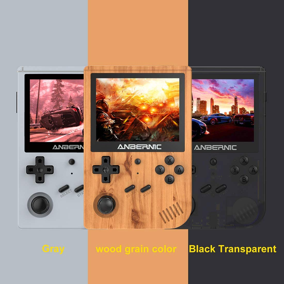 3.5 Inch IPS Screen Handheld Retro Game Console Open Source System Bonlting RuiyiFS RG351V Handheld Game Console Preloaded 5000 Games with 32G TF Card
