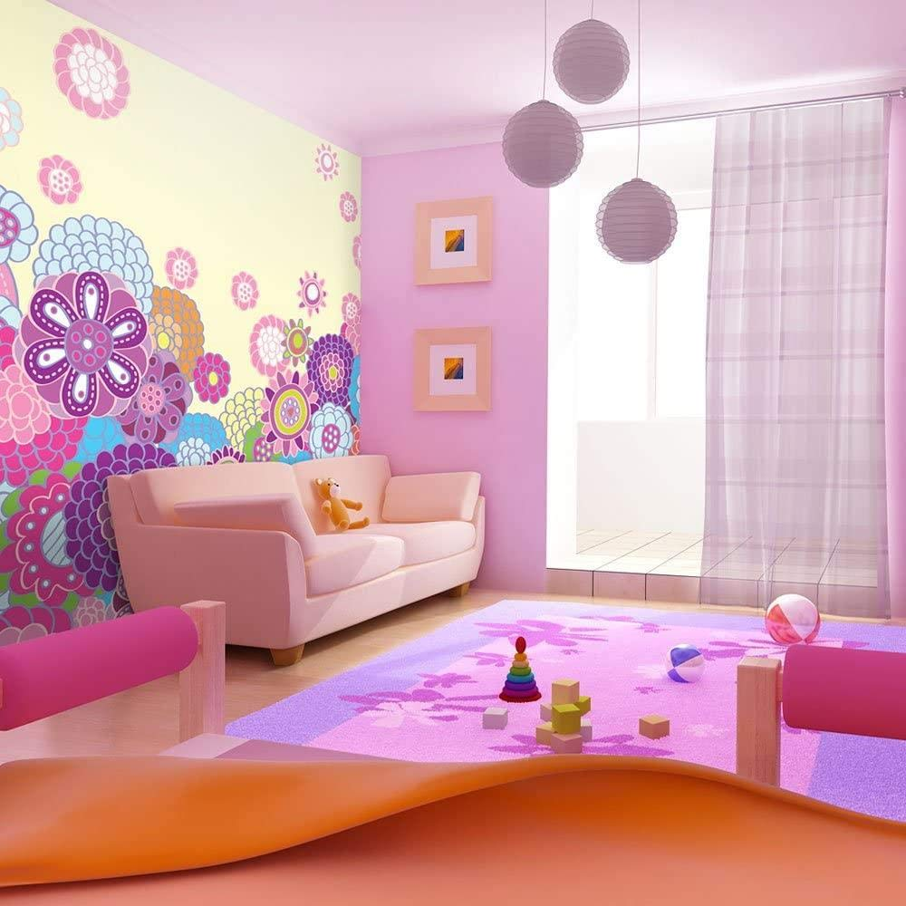 Mural Wall Photo Cash special price All stores are sold 3D Modern Flower-280x200CM Comic