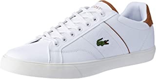 Lacoste Fairlead 119 1 Fashion Shoes, WHT/LT BRW
