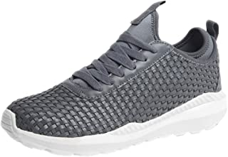 Urban Fit Men's Sneakers Waterproof Ultra Lightweight Breathable Athletic Running Walking Gym Shoes