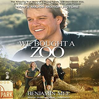 We Bought a Zoo audiobook cover art