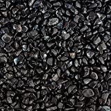 Gravilla decorativa negra 5 kg granulometría 2-4 mm acuario dulce