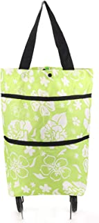 Portable Folding Shopping Trolley Cart Lightweight Luggage Wheels Grocery Bag