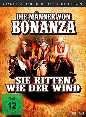 Die Männer von Bonanza, sie ritten wie der Wind (Blu-ray + DVD im Mediabook) [Collector's Edition]