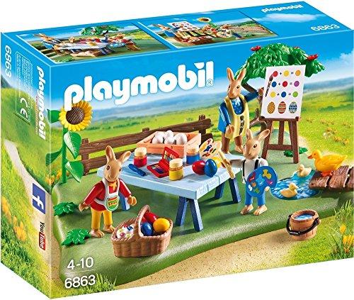 Playmobil Pascua- Conejo de Pascua Juego de construcción, Multicolor, 24,8 x 7,2 x 18,7 cm (Playmobil 6863)