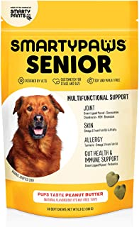 Dog Vitamin and Supplement: Glucosamine, Probiotics for Gut Health & Immune Support, Fish Oil For Dogs, Chondroitin, MSM f...
