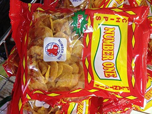 Chips Banane Plantain Sucrée Lot de 5
