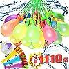 水風船 水爆弾 大量 マジックバルーン 1110個(30束X37)+ホースアダプター 一気に作れる水風船【ハンドル部分の色ランダムです】自動的に縛る 水を入れて投げ合う 暑い夏の水遊びに子供玩具【G&H】