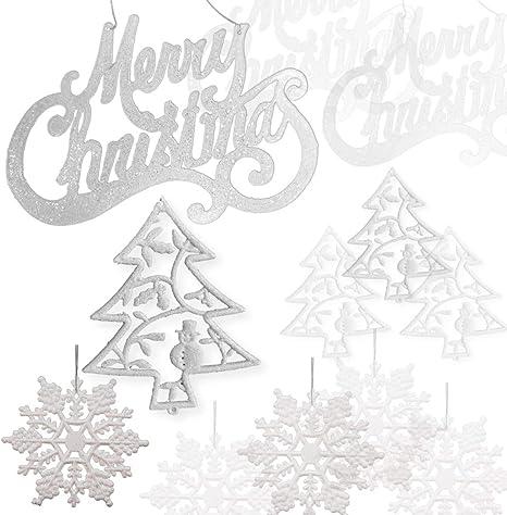 "Buy $10=Free Ship Elegant Gold Glittered Ornament Sign saying /""Merry Christmas/"""