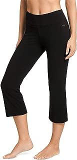 Women's Slim Capri Flare Athletic Pant