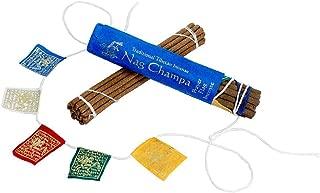 dzi Prayer Flag and Incense Roll - Nag Champa