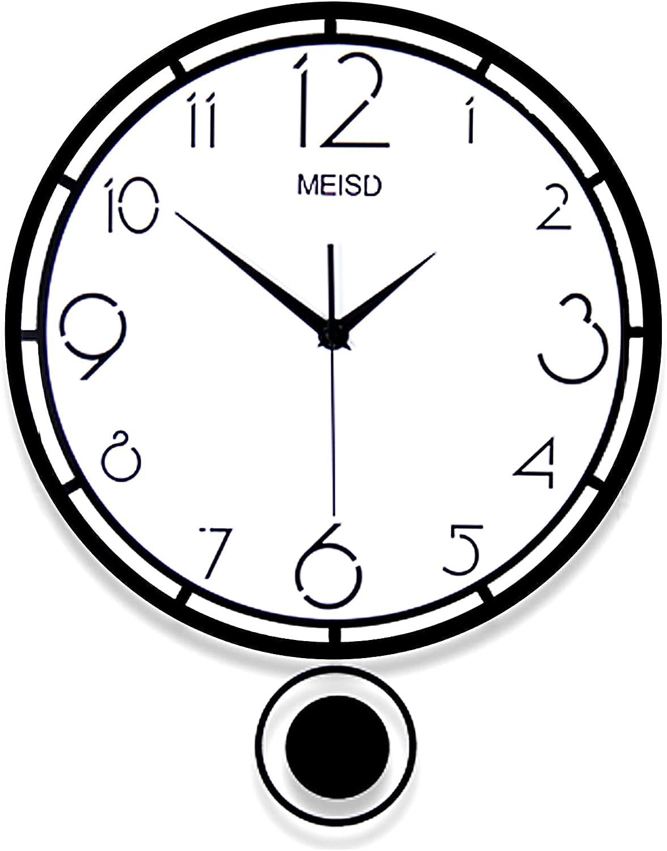 WENCY shop Modern Wall Clock Acrylic Pend with Clocks Boston Mall Decorative