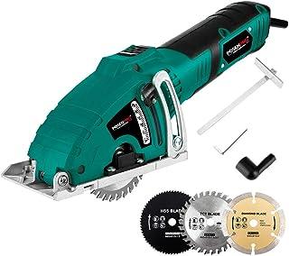 Mini Circular Saw,POSENPRO 700W Compact Circular Saw Machine,Multi-functional High Powered Circular Saw with 3 Carbide Tip...