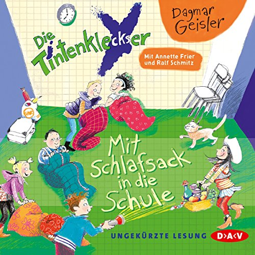 Mit Schlafsack in die Schule audiobook cover art