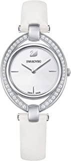 Swarovski Stella Women's Silver Dial Leather Watch - 5376812