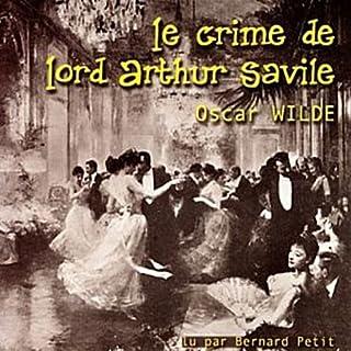 Couverture de Le crime de Lord Arthur Savile
