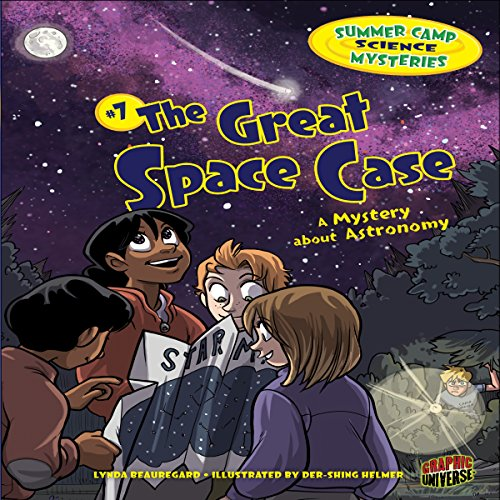 The Great Space Case audiobook cover art