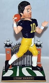 Tom Brady 2014 Michigan Wolverines Varsity Bobble Head